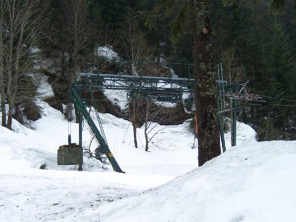 Bergstation des Hebelwiesenliftes