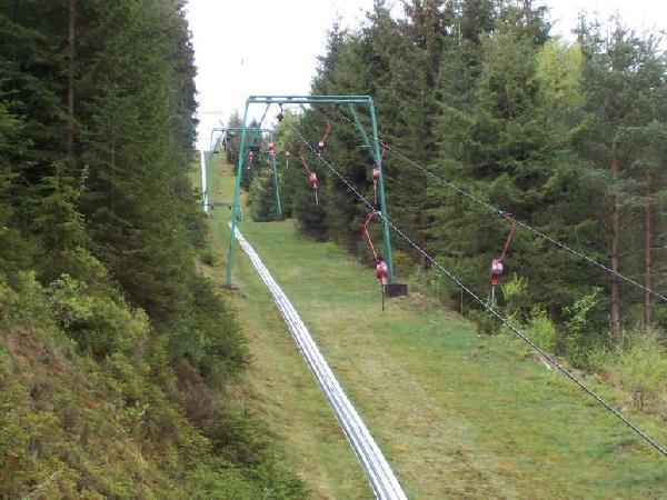 Bergauftransport mit einem Leitner Lift.