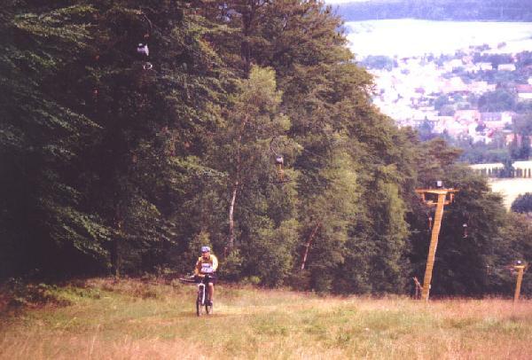 Bergauftransport am Skilift Beerfelden