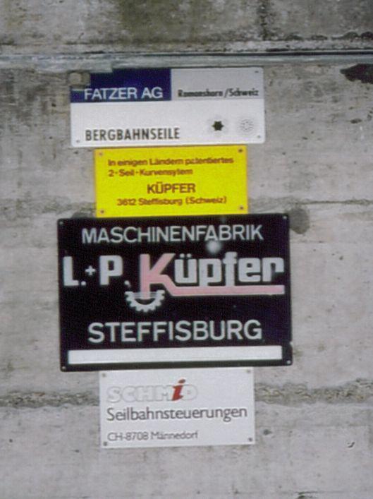 Herstellerschild